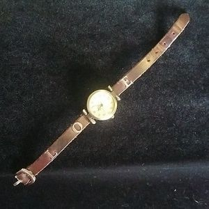 Vintage Inspired Watch Face on AE Bracelet